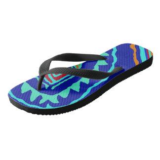 Crazy Beach Bum Flip Flops - Vacation Sandals
