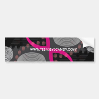 Crazy Beautiful Abstract Bumper Sticker