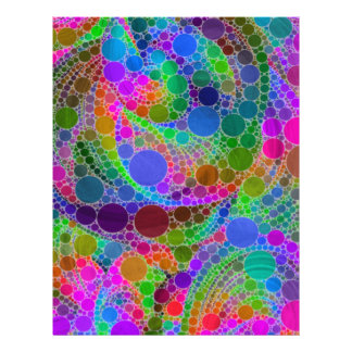 Crazy Beautiful Abstract Customized Letterhead