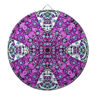 Crazy Beautiful Abstract Dartboards