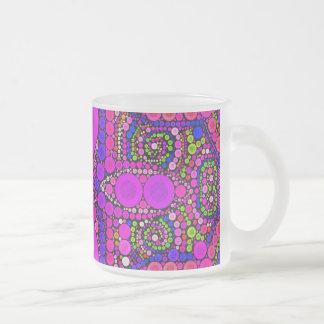 Crazy Beautiful Abstract Frosty Mugs