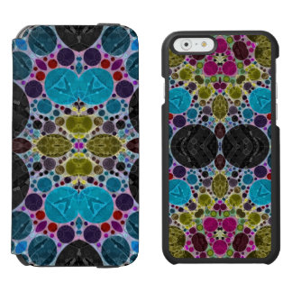 Crazy Beautiful Abstract Incipio Watson™ iPhone 6 Wallet Case