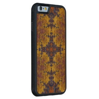 Crazy Beautiful Abstract iPhone6 Wood Carved case