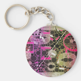 Crazy Beautiful Abstract Keychains