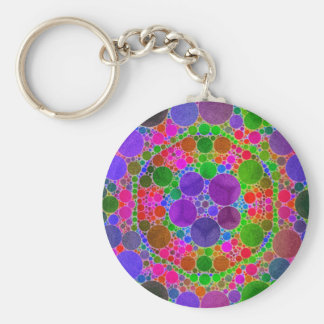 Crazy Beautiful Abstract Keychain