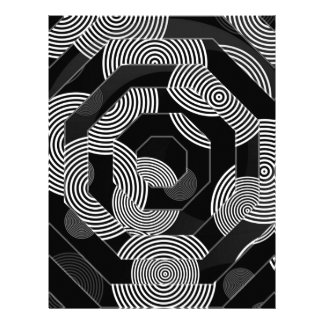 Crazy Beautiful Abstract Personalized Letterhead