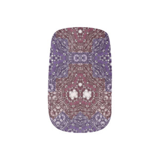 Crazy Beautiful Abstract Minx Nails Minx Nail Art