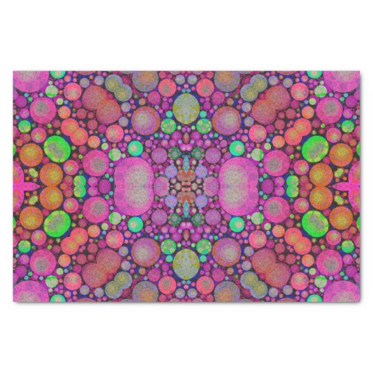 Crazy Beautiful Abstract Tissue Paper