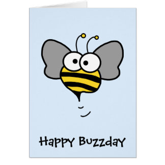 Crazy Bee Card