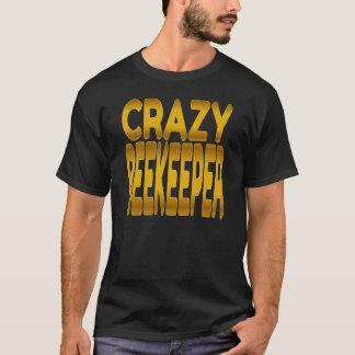 Crazy Beekeeper in Gold T-Shirt