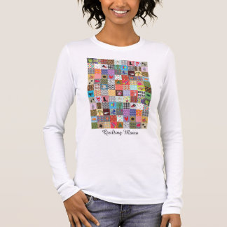 Crazy Block Quilt Quilting Mama Funny T-Shirt