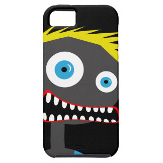 Crazy blond man iPhone 5 cover