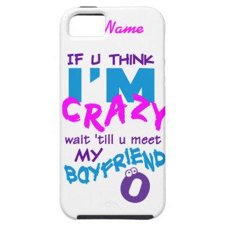 Crazy Boyfriend custom iPhone 5 Case-Mate iPhone 5 Cover