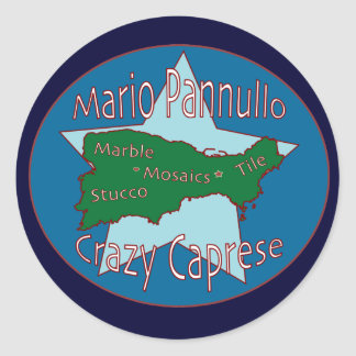 Crazy Caprese Sticker