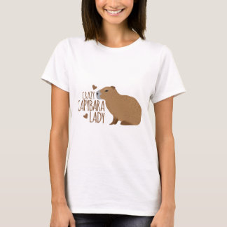 crazy capybara lady T-Shirt