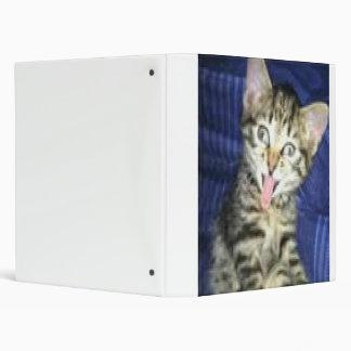 Crazy Cat Vinyl Binder