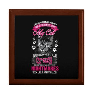 Crazy Cat Gift Box