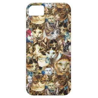 crazy cat heads iPhone case iPhone 5 Covers
