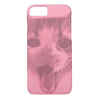 Crazy Cat iPhone 8/7 Case