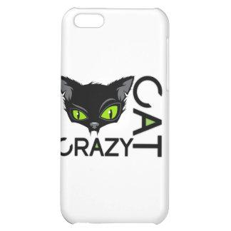 crazy cat case for iPhone 5C