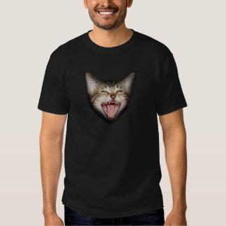 Crazy Cat Kitten Face T Shirt