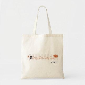 Crazy Cat Lady Cafe Tote Bag