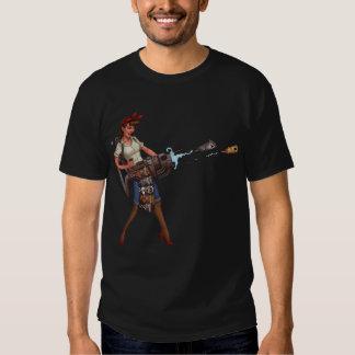 Crazy Cat Lady Cannon T Shirts