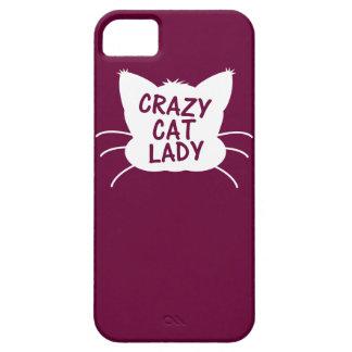 Crazy Cat Lady iPhone 5 Cases