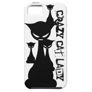 Crazy Cat Lady Case For The iPhone 5