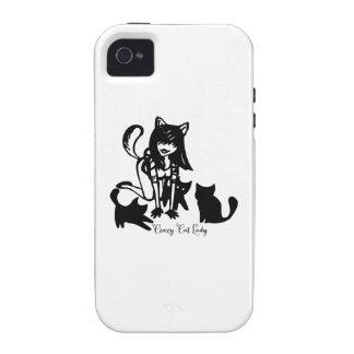 Crazy Cat Lady Case-Mate iPhone 4 Case