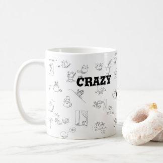 Crazy Cat Lady|| Cat Doodle Coffee Mug