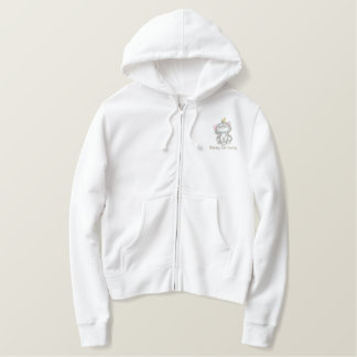 Crazy Cat Lady Embroidered Hoodie
