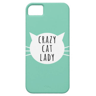 Crazy Cat Lady Funny Case Case For The iPhone 5