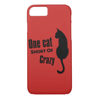 Crazy Cat Lady Funny Meow Apple iPhone 8/7 Case