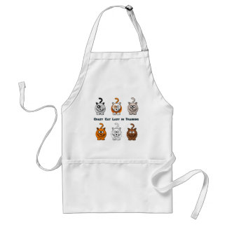 Crazy Cat Lady In Training Apron
