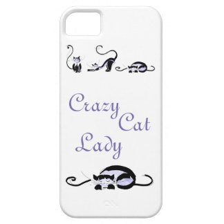 Crazy Cat Lady iPhone 5 Cover