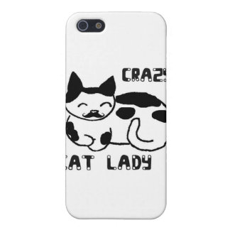 Crazy cat lady iPhone 5 covers