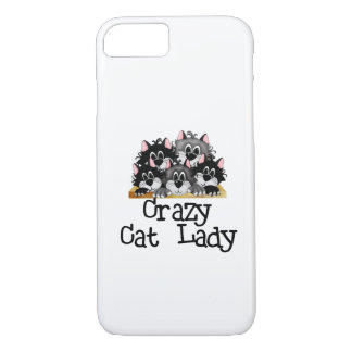 Crazy Cat Lady iPhone 7 case