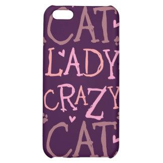 Crazy Cat Lady Case For iPhone 5C