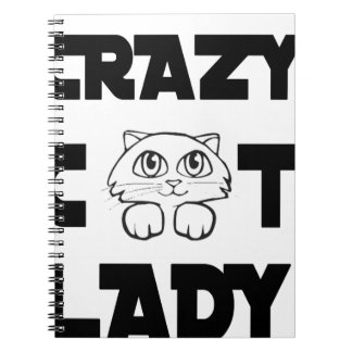 crazy cat lady notebooks