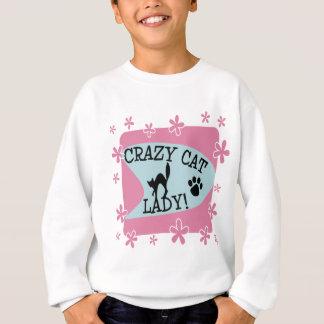 Crazy Cat Lady - Retro Sweatshirt