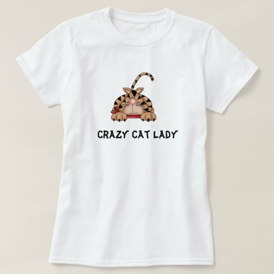 Crazy Cat Lady tee shirt