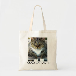 Crazy Cat Lady!! Tote