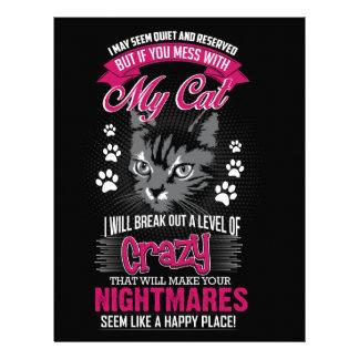 Crazy Cat Letterhead
