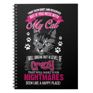Crazy Cat Notebook