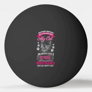 Crazy Cat Ping Pong Ball
