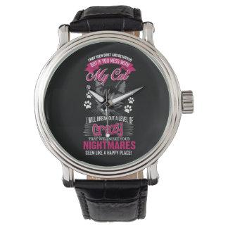 Crazy Cat Watch