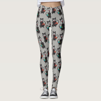 Crazy Cats Leggings