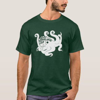 Crazy Cephalopod Lady Dark T-Shirt