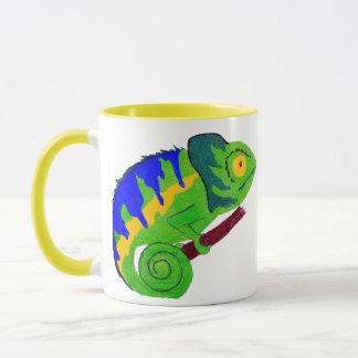 Crazy Chameleon Mug